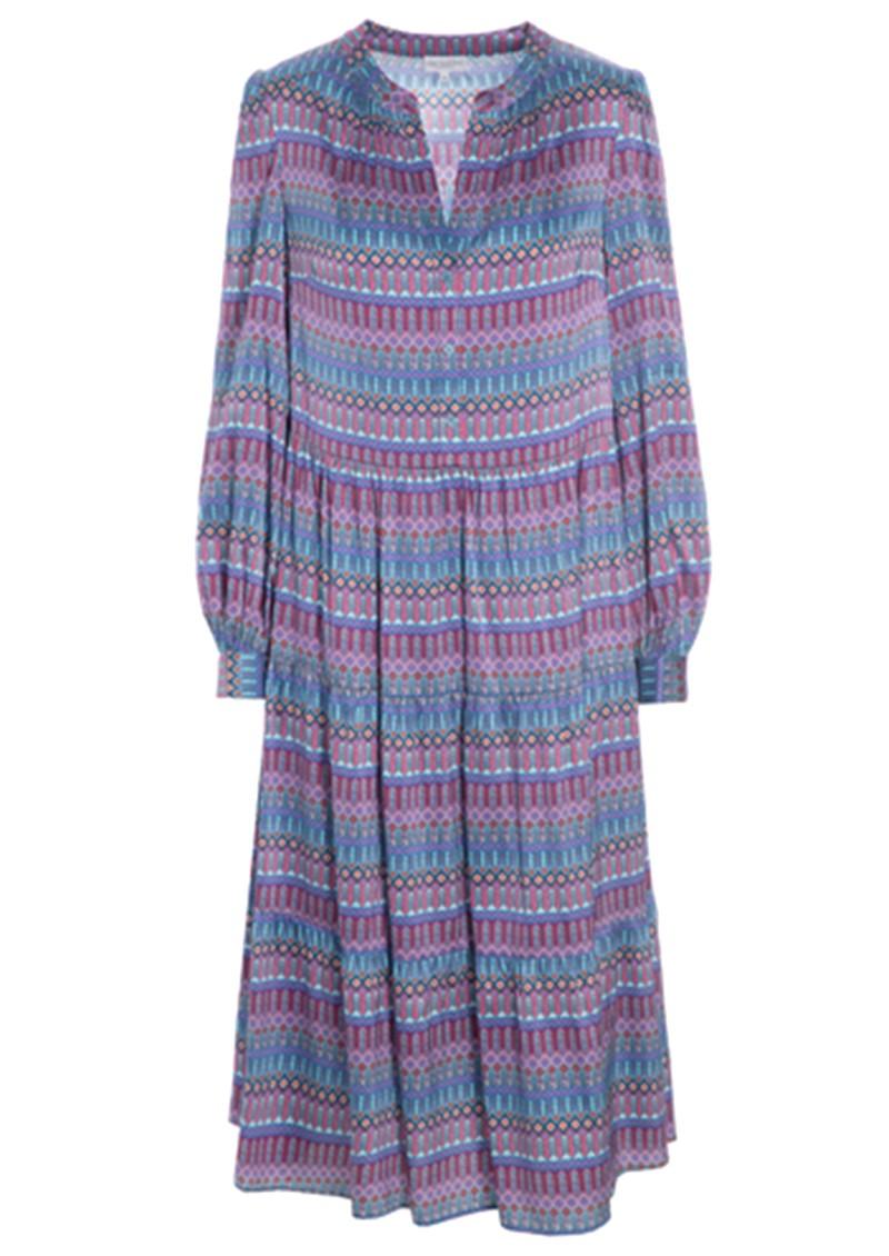 DEA KUDIBAL Cathrin Silk Dress - Tapestry Blue main image