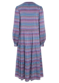 DEA KUDIBAL Cathrin Silk Dress - Tapestry Blue
