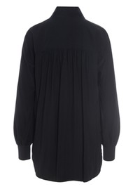 DEA KUDIBAL Kate Silk Tunic Blouse - Black