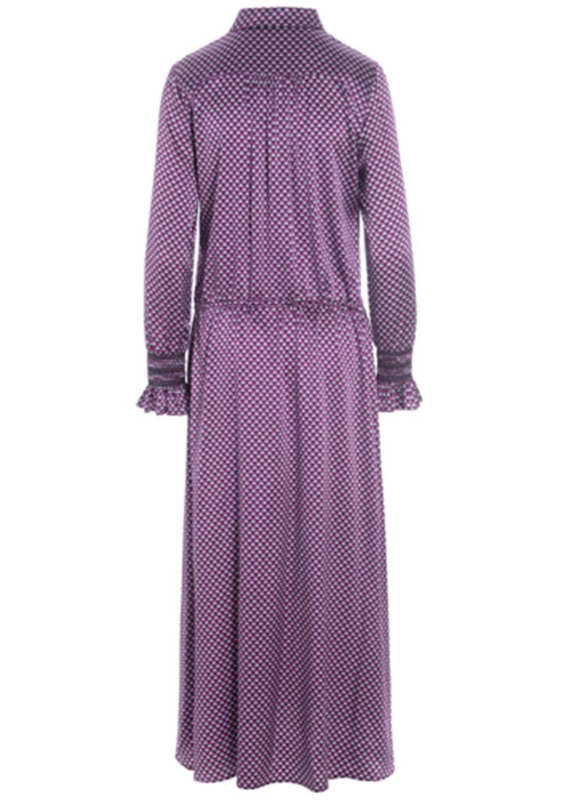 DEA KUDIBAL Kir Silk Dress - Madder Grape main image