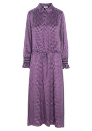 DEA KUDIBAL Kir Silk Dress - Madder Grape