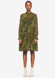 BAUM UND PFERDGARTEN Ajay Printed Dress - Camo Meadow