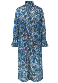 BAUM UND PFERDGARTEN Aeverie Printed Dress - Blue Hydrangea