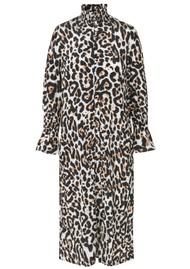 BAUM UND PFERDGARTEN Aeverie Leopard Printed Dress - Wild Leo