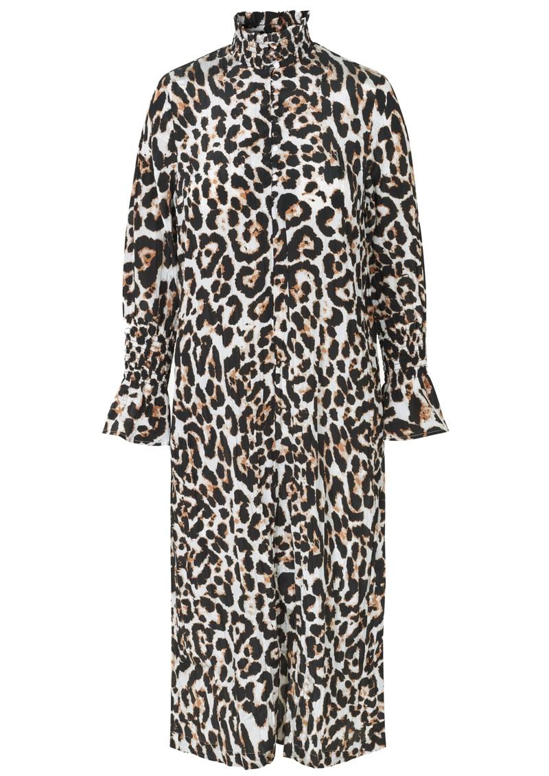 BAUM UND PFERDGARTEN Aeverie Leopard Printed Dress - Wild Leo main image