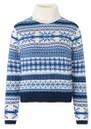 BAUM UND PFERDGARTEN Creedence Wool Mix Jumper - Faroe Blue