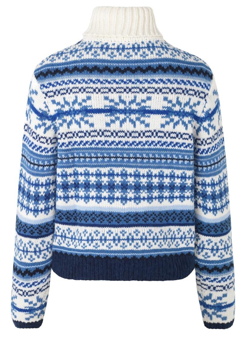 BAUM UND PFERDGARTEN Creedence Wool Mix Jumper - Faroe Blue main image