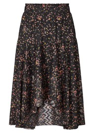 LOLLYS LAUNDRY Bali Midi Skirt - Flower Print