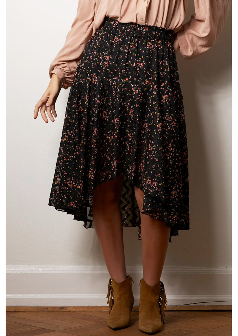 LOLLYS LAUNDRY Bali Midi Skirt - Flower Print main image