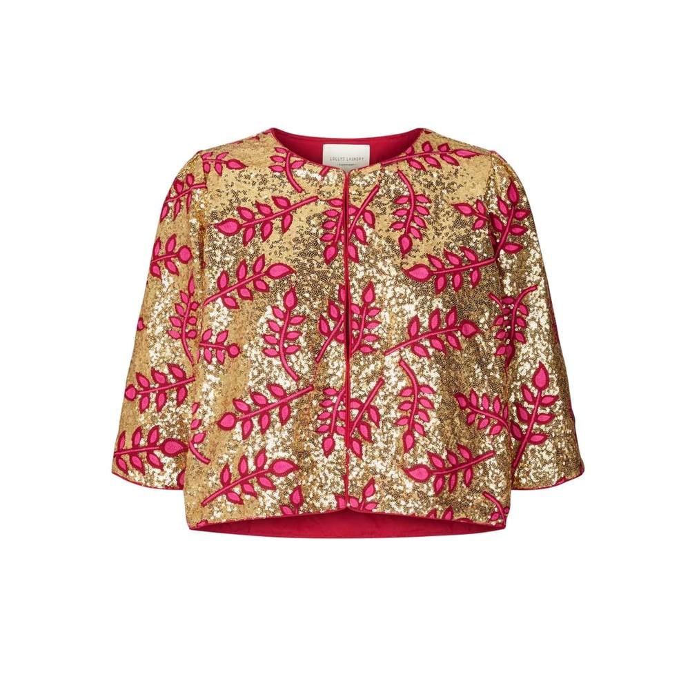 Trine Sequin Jacket - Pink