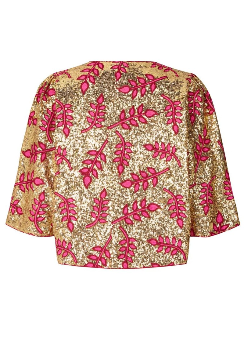 LOLLYS LAUNDRY Trine Sequin Jacket - Pink main image