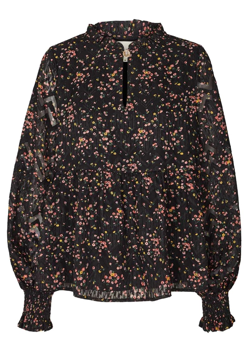 LOLLYS LAUNDRY Maya Blouse - Flower Print main image