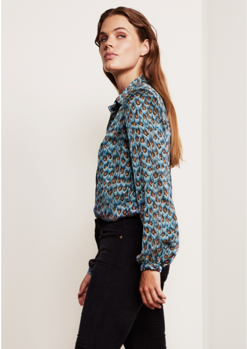 FABIENNE CHAPOT Frida Blouse - Peacock Party main image