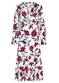 FABIENNE CHAPOT Coco Dress - Purple Rain Roses