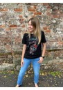 Snake & Roses Organic Cotton Tee - Black additional image
