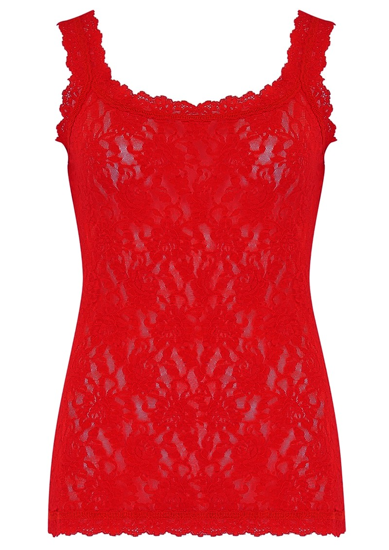 Hanky Panky Unlined Lace Cami - Mars Red main image