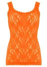 Hanky Panky Unlined Lace Cami - Clementine