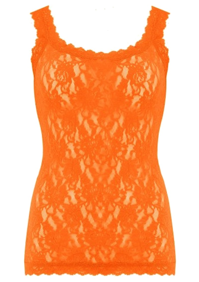 Hanky Panky Unlined Lace Cami - Clementine main image