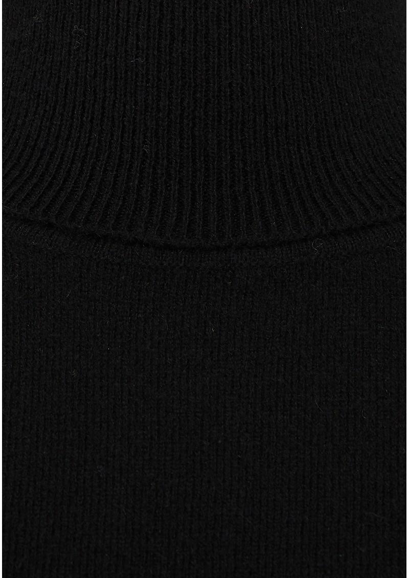 JUMPER 1234 Classic Roll Collar Cashmere Jumper - Black main image