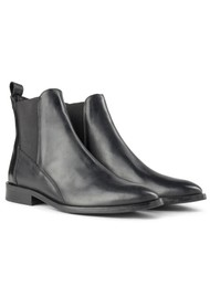 SHOE THE BEAR Finna Leather Chelsea Boot - Black