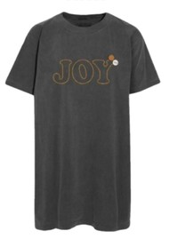 NEWTONE Joy T-Shirt Dress - Pepper