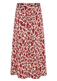 FABIENNE CHAPOT Claire Midi Skirt - Cherry Cat