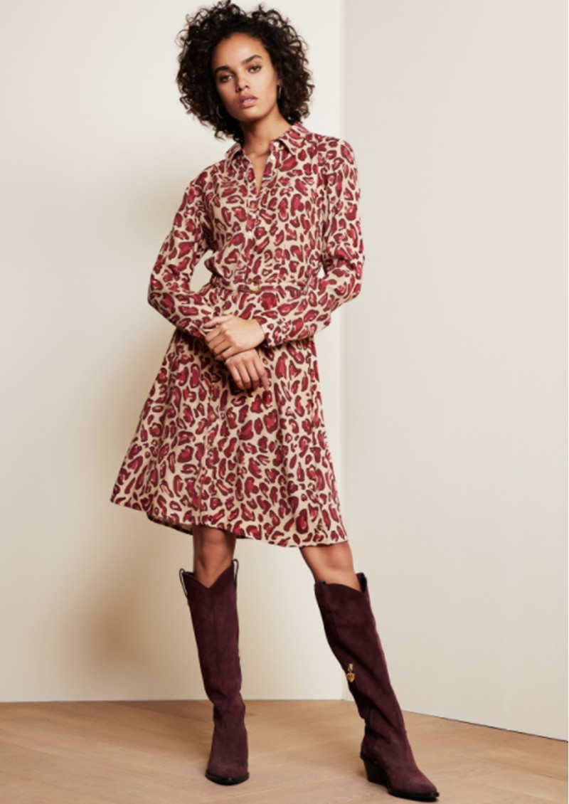 FABIENNE CHAPOT Hayley Shirt dress - Cherry Cat main image