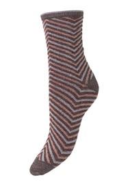 Becksondergaard Twisty Darya Socks - Fudge