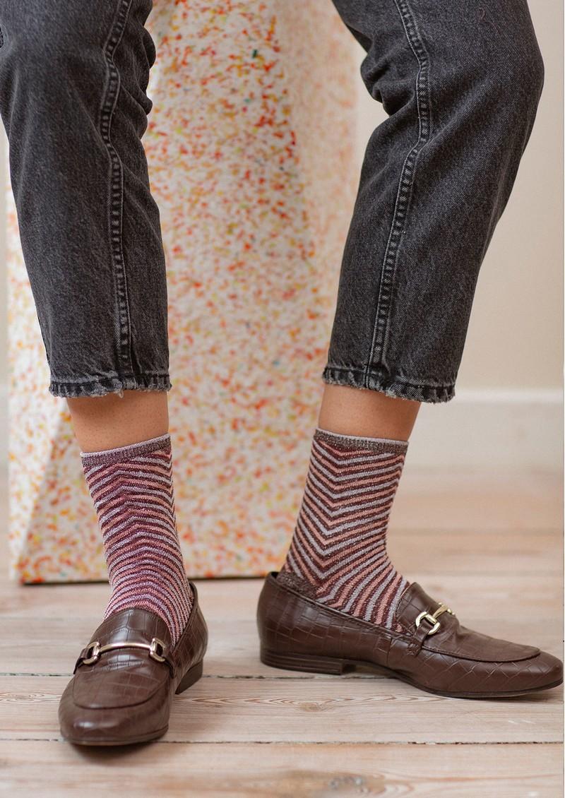 Becksondergaard Twisty Darya Socks - Fudge main image
