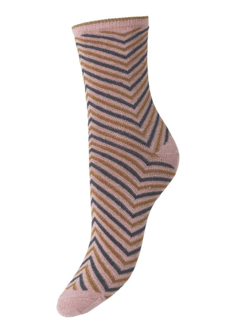 Becksondergaard Twisty Darya Socks - Silver Grey main image