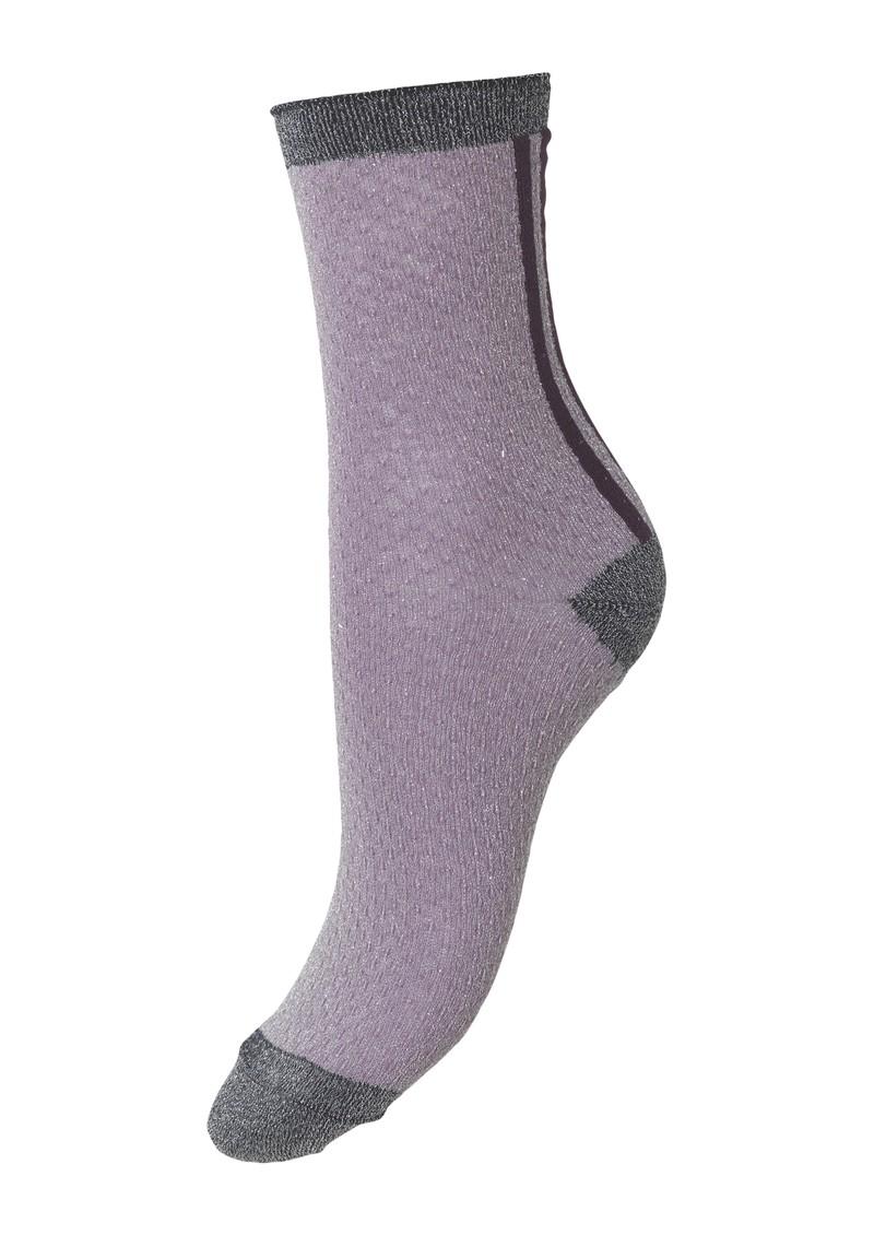 Becksondergaard Shimmer Pasha Socks - Keepsake Lilac main image