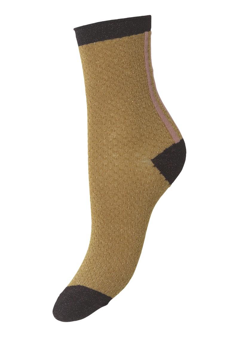 Becksondergaard Shimmer Pasha Socks - Tapenade main image