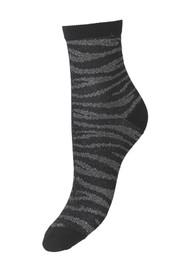 Becksondergaard Zebra Glitzi Socks - Black