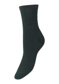 Becksondergaard Dover Stripe Socks - Darkest Spruce