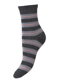 Becksondergaard Dalea Big Stripe Socks - Night Sky