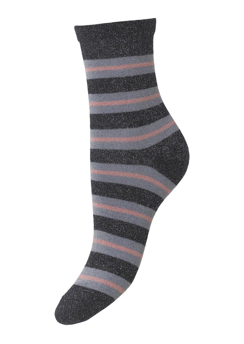 Becksondergaard Dalea Big Stripe Socks - Night Sky main image