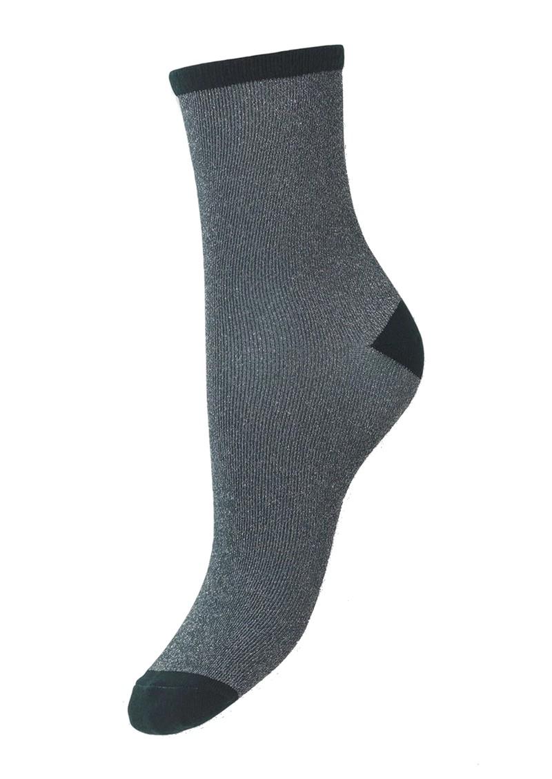 Becksondergaard Dina Solid Socks - Darkest Spruce main image