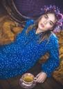 LOLLYS LAUNDRY Audrey Dress - Blue