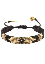 MISHKY Peeky Narrow Bracelet - Black