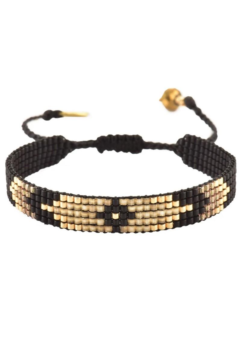 MISHKY Peeky Narrow Bracelet - Black main image