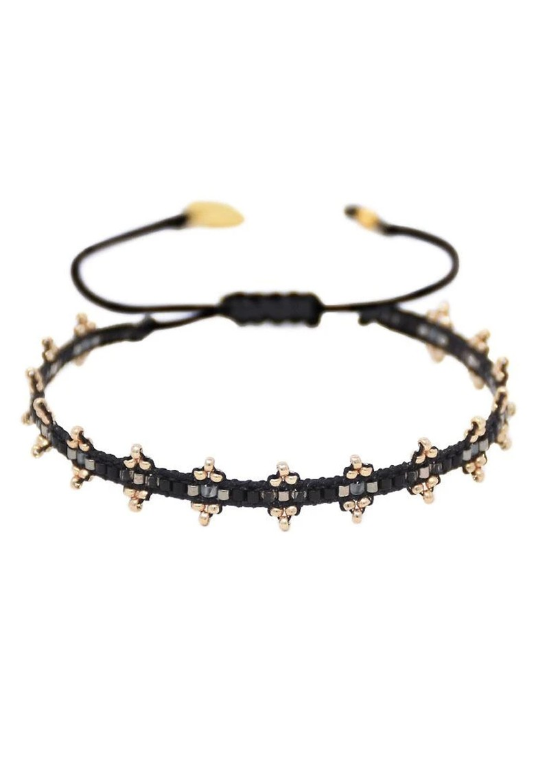 MISHKY Shanty Beaded Bracelet - Black main image