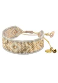 MISHKY Rays Beaded Bracelet - Metallic