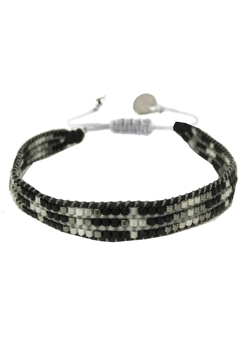MISHKY Track Beaded Bracelet - Black main image