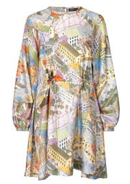 STINE GOYA Coco Silk Dress - City