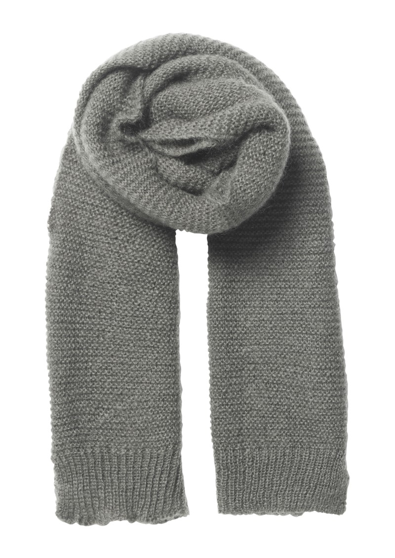 Janu Wool Mix Scarf - Grey Melange main image