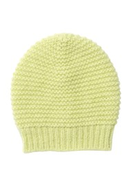 Becksondergaard Jade Wool Mix Beanie Hat - Sunny Lime