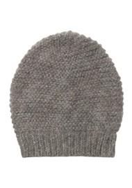 Becksondergaard Jade Wool Mix Beanie Hat - Grey Melange
