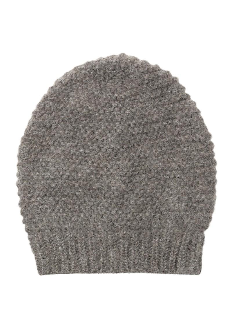 Becksondergaard Jade Wool Mix Beanie Hat - Grey Melange main image