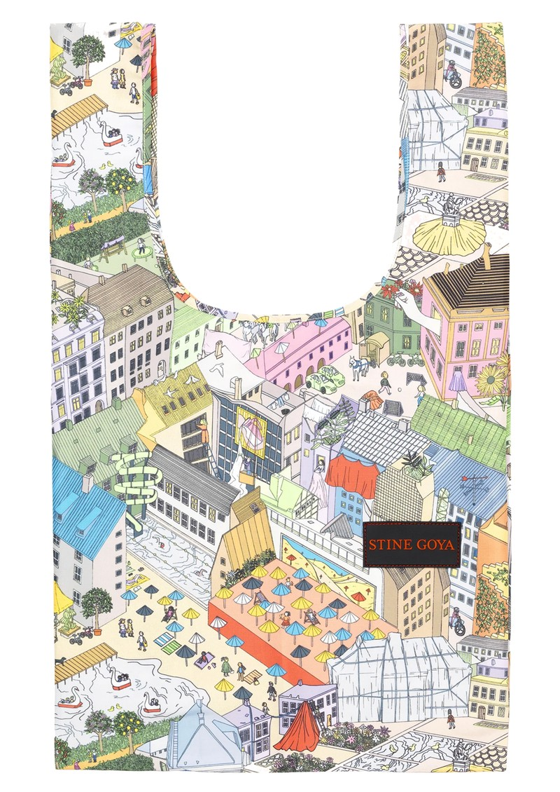 STINE GOYA Idunn Printed Bag - City main image