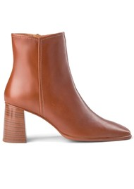 SHOE THE BEAR Agata Leather Ankle Boots - Tan